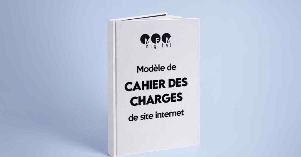 template cahier des charges site web
